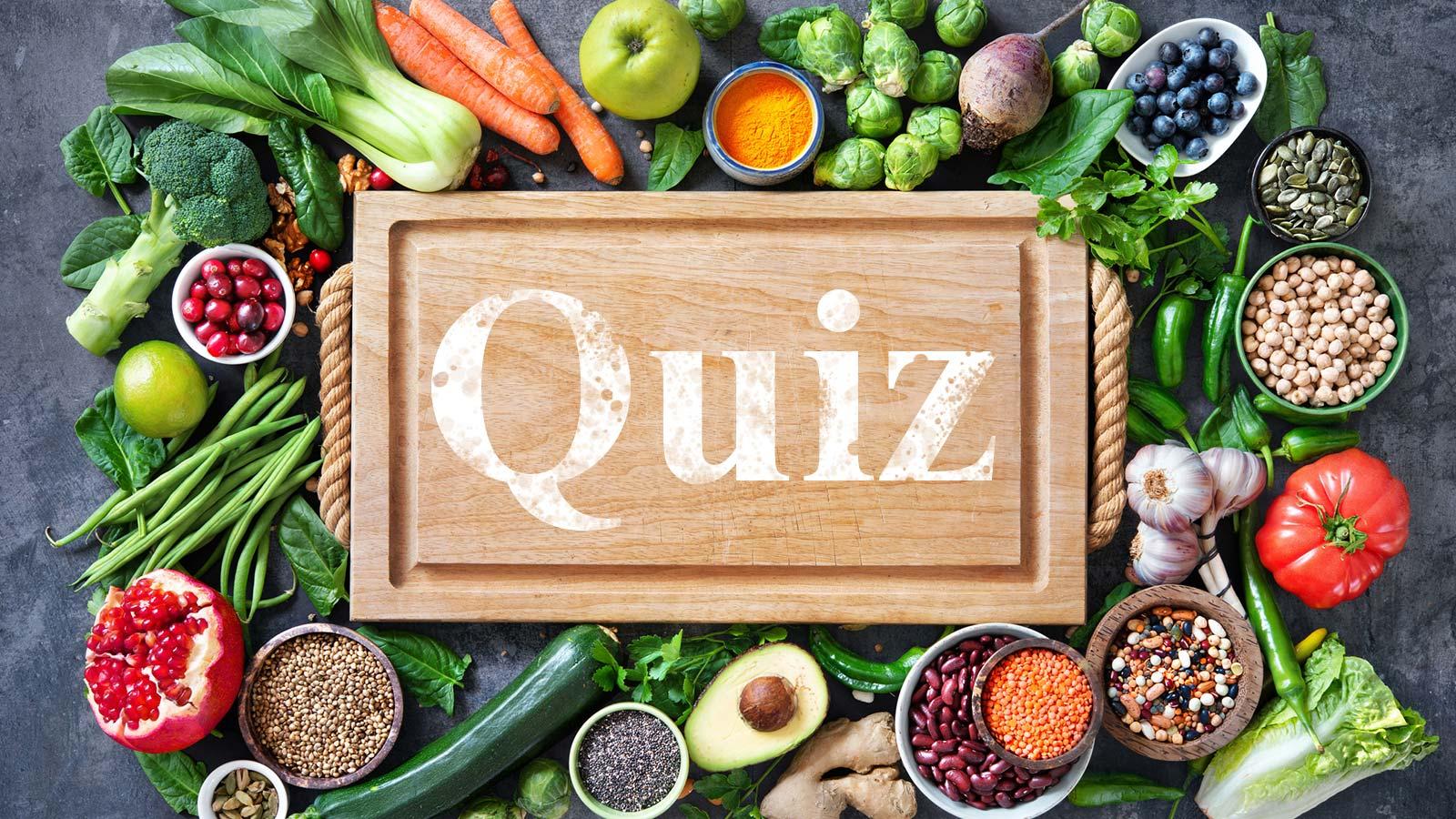 Ernährungs-Quiz